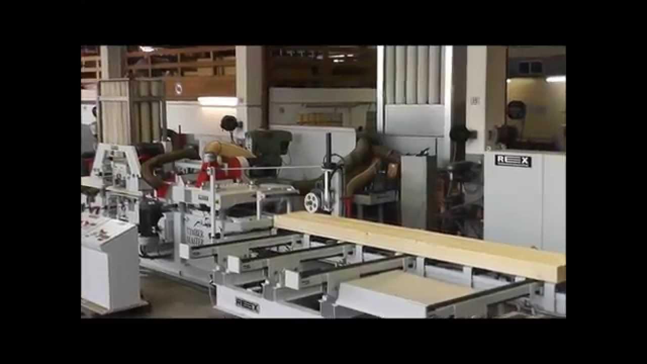 Embedded thumbnail for Timbermaster — для малых и средних предприятий. Компактный строгальный станок с 4–10 рабочими шпинделями